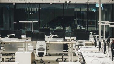 Open-plan offices actually discourage face-to-face interaction.