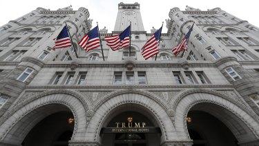 The Trump International Hotel at 1100 Pennsylvania Avenue