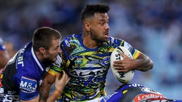 Stood down: Kenny Edwards will be given a chance to defend himself to the Eels.