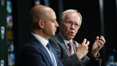 """Todd Greenberg and Peter Beattie apparently have a """"vision"""" for rugby league."""