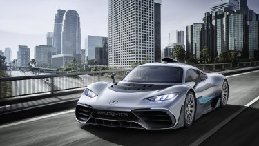 Mercedes' sold-out electric Project 1.