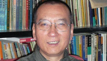 Chinese dissident, Nobel laureate Liu Xiaobo in China in 2008.