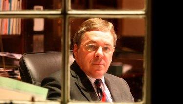 Roy Kelley,  headmaster of Melbourne Grammar.