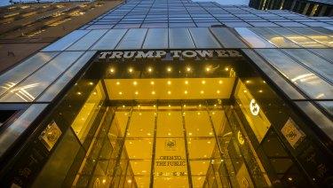 Trump Tower in New York is one of Donald Trump's landmark developments.