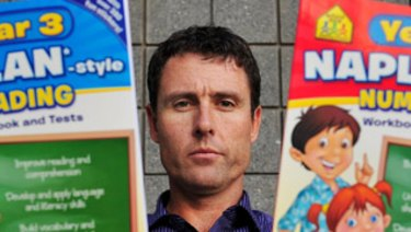 Glenn Fowler, head of the Australian Education Union's ACT branch, has called for an end to NAPLAN.