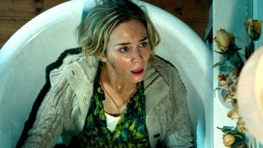 Emily Blunt in a scene from The Quiet Place.