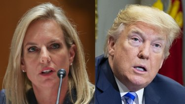 Donald Trump unloaded on the Homeland Security head Kirstjen Nielsen to the point where she drafted her resignation.