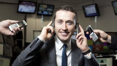 Bookmaker Tom Waterhouse is CEO of William Hill's Australian outpost.