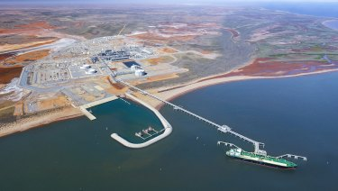 Chevron-operated Wheatstone LNG plant