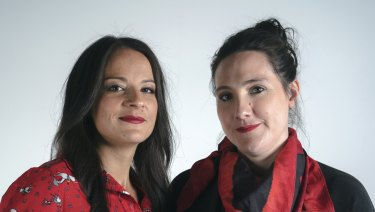 Co-founders Teresa Truda and Zia Word.