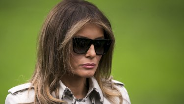 Melania Trump has stayed silent on the recent affair allegations.