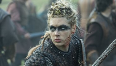 Lagertha was a historical Viking figure, praised in an ancient epic for her bravery