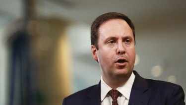 Steve Ciobo's address was hailed as symbolic given China's unofficial freeze on visits by Australian government representatives.
