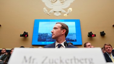 Mark Zuckerberg testifies on Capitol Hill about the use of Facebook data to target American voters.
