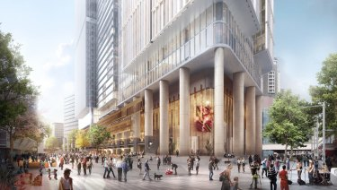 Walker Corporation proposed new commercial tower at 6 and 8 Parramatta Square. Image Supplied