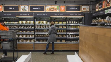 You won't be held up by queues at Amazon Go.