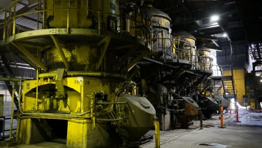 The pulverising mills at AGL's Liddell Power Station - not about to be bought by Alinta.