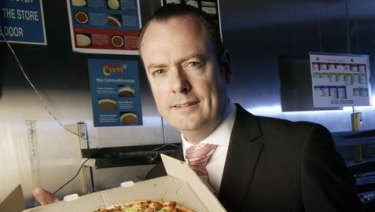 Australia's highest-paid CEO Domino's Pizza chief Don Meij.