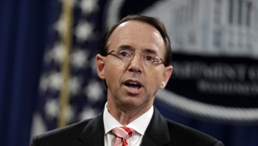 Deputy Attorney General Rod Rosenstein