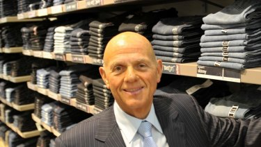 Retail king Solomon Lew's company is both the largest shareholder in Myer, and one of its biggest suppliers.