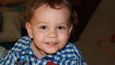 Lachlan Black, the toddler who died after visiting six doctors in five days.