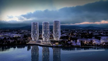An artist's impression of Sunland's proposed $430 million Grace on Coronation development.