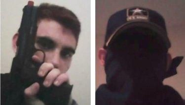 Nikolas Cruz flaunted his love of guns and knives on his social media profiles.