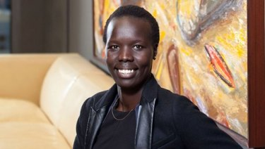 Nyadol Nyuon is a lawyer at Arnold Bloch Leibler.