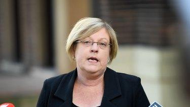 Police Minister Lisa Neville.