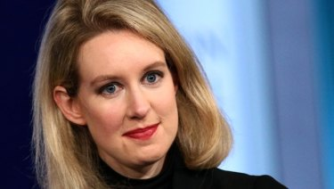 Elizabeth Holmes was a billionaire at 30 as investors bought into her promise of revolutionising medicine.
