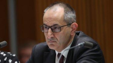 Secretary of the Home Affairs department Michael Pezzullo.