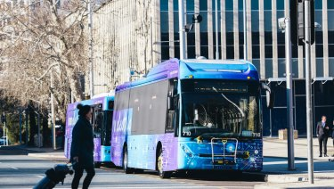 Canberra's bus network will be overhauled later this year.
