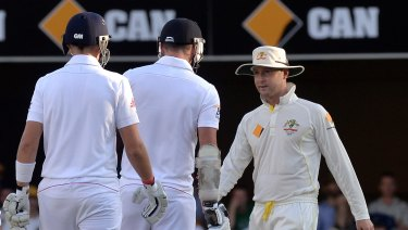Explicit: Michael Clarke's now famous line to Jimmy Anderson shocked many cricket fans.