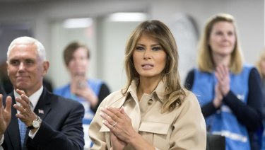 """Even first lady Melania Trump has argued that, while she """"hates"""" that families are being torn apart, she believes people must """"follow all laws""""."""