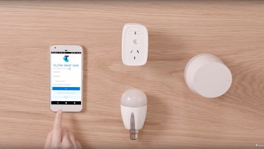 Telstra's connected gear offers smart home basics