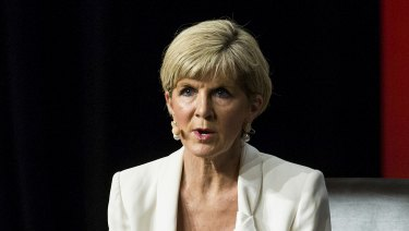 Foreign Minister Julie Bishop has asked the UK to divert more aid to the Pacific following China's push in the region.