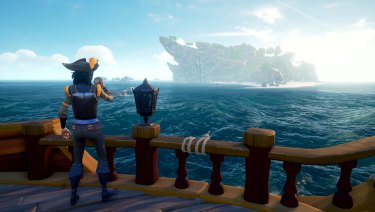 In a two- or four-person boat, with the right crew, Sea of Thieves can be a lot of fun.