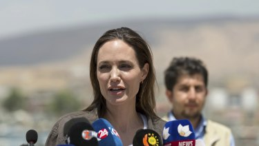 """Words like 'unsustainable' don't really paint a picture of how desperate the situation really is"": Jolie"