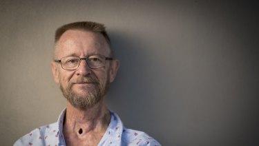 Cancer survivor Dave Waters.