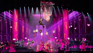 Pink's tour continues in Perth on Thursday, Friday and Saturday before the tour continues to other states.