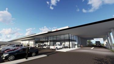 LOGOS has scured Volvo Group Australia at Prestons Logistics Estate