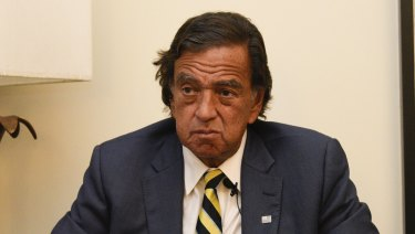 Bill Richardson said he has resigned from an advisory panel trying to tackle the massive Rohingya refugee crisis.