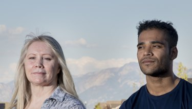 Australian expat Maree de Marco and Rohingya refugee Mohammad Noor have formed a friendship in Salt Lake City.