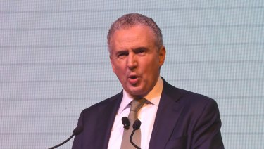Telstra chief executive Andy Penn expects wireless only households to increase.