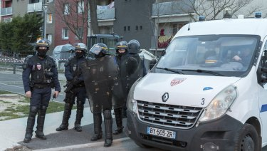 Following the attack there remained a heavy police presence in the town.
