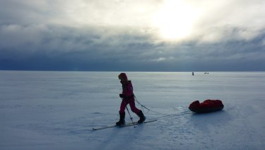 Jade Hameister has trekked both the North Pole, South Pole and Greenland.