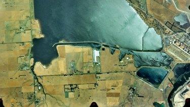 Hazelwood Pondage sits next to the defunct Hazelwood Power Station.