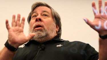 Apple co-founder Steve Wozniak.