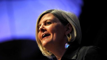 Sam Mostyn says boards must consider climate change risks.