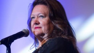 Gina Rinehart has bought a 19.96 per cent stake in Atlas.
